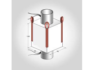 МКР 4 стропный Размер: 95*95*130 см (люк)